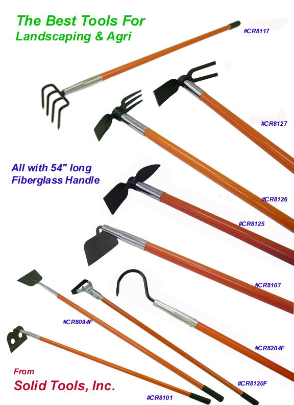 Solid Tools Inc Garden Hoes Weeding